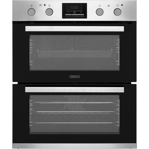 Zanussi ZOF35802XK Built Under Electric Double Oven - Stainless Steel - A/A Rated
