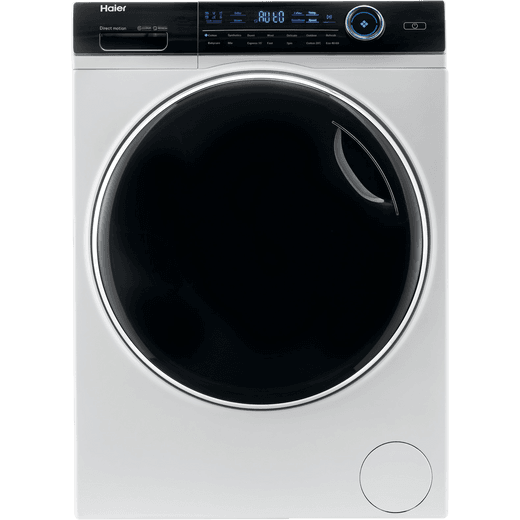 Haier i-Pro Series 7 HW100-B14979 10Kg Washing Machine with 1400 rpm - White - A Rated