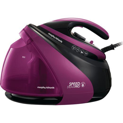 Morphy Richards Auto Clean Speed Steam Pro Pressurised 332102 Pressurised Steam Generator Iron - Purple / Black