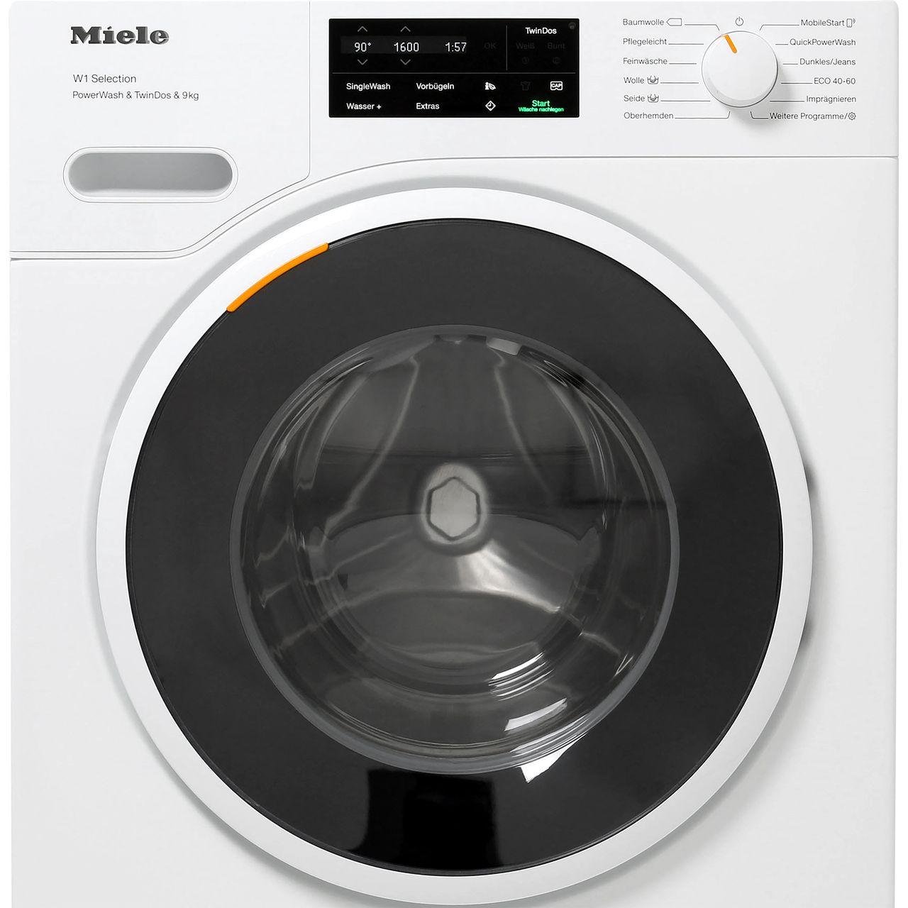 Weichspülerfach wasser miele waschmaschine im Waschmaschine zieht