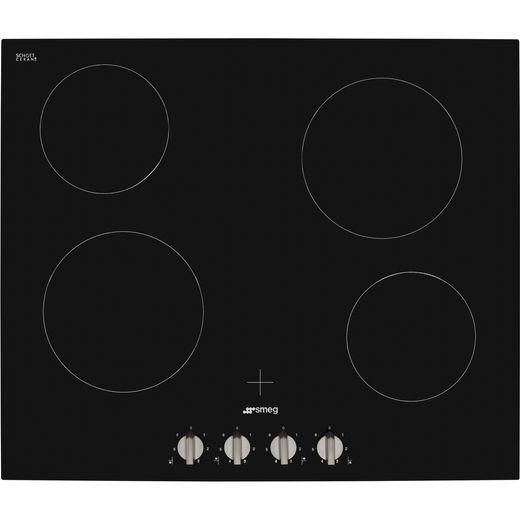 Smeg Cucina SE364TDM Built In Ceramic Hob - Black
