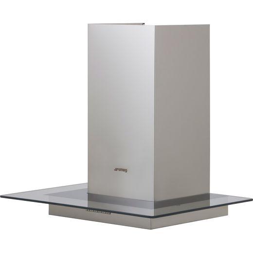 Smeg KBT600VE 60 cm Chimney Cooker Hood - Stainless Steel - B Rated