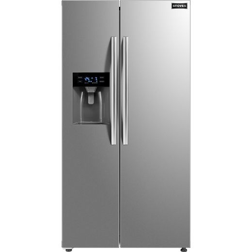 Stoves SXS905 American Fridge Freezer - Stainless Steel - F Rated