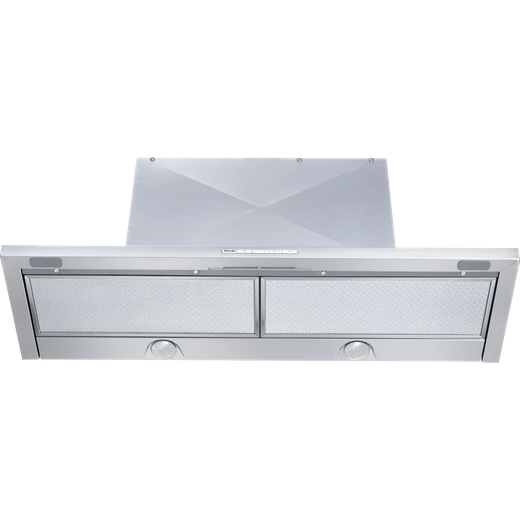 Miele DA3496 89 cm Canopy Cooker Hood - Stainless Steel - B Rated