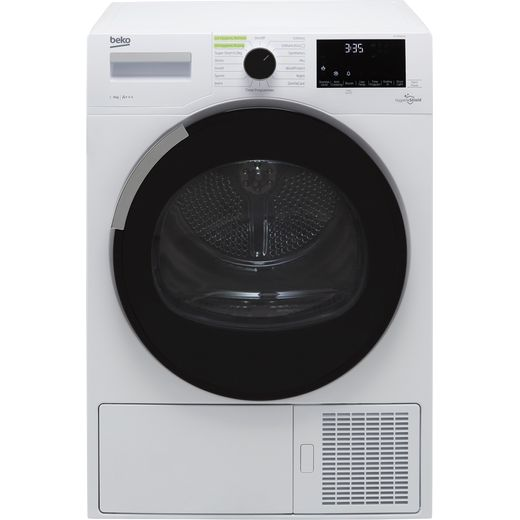 Beko HygieneShield DHY9P56VW 9Kg Heat Pump Tumble Dryer - White - A+++ Rated