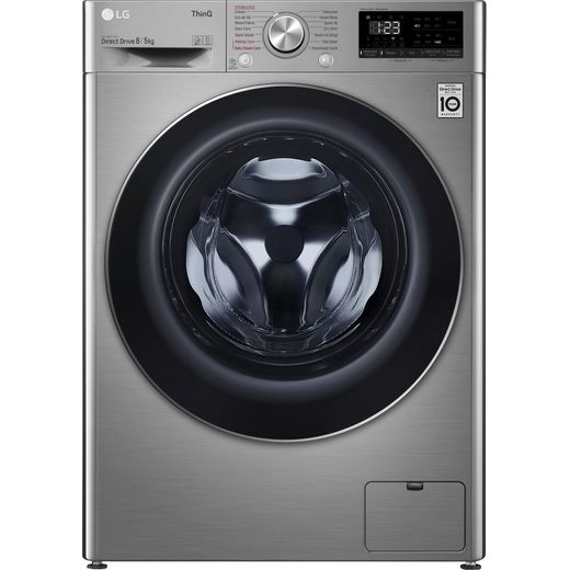 LG FWV685SSE 8Kg / 5Kg Washer Dryer with 1400 rpm - Graphite - D Rated