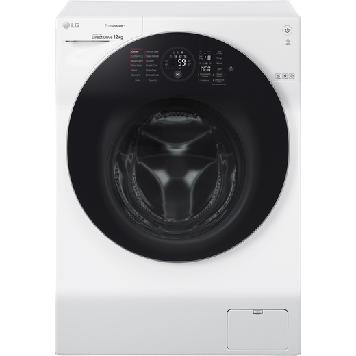 LG TrueSteam™ FH4G1BCS2 Wifi Connected 12Kg Washing Machine with 1400 rpm - White - A Rated