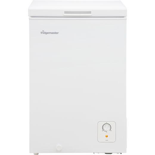 Fridgemaster MCF96 Chest Freezer - White - F Rated
