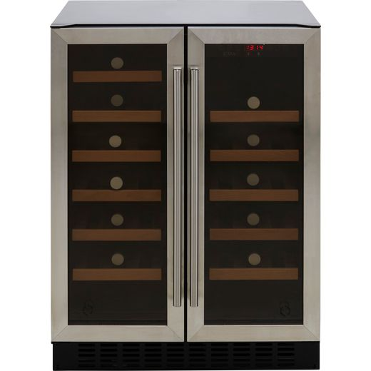 CDA FWC624SS Built Under Wine Cooler - Stainless Steel - G Rated