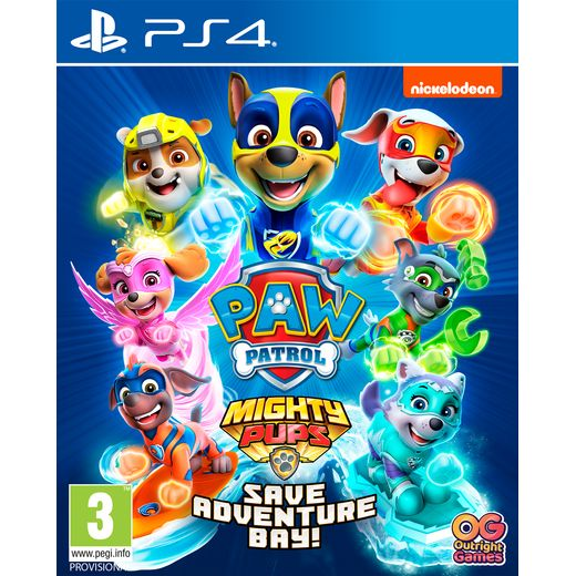 Paw Patrol: Mighty Pups Save Adventure Bay for PlayStation 4
