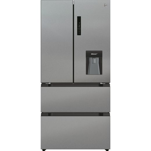 Hoover HSF818FXWDK American Fridge Freezer - Stainless Steel - F Rated