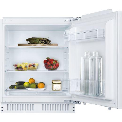 Candy CRU160NEK/N Integrated Under Counter Fridge - Door-on-door Kit - White - F Rated