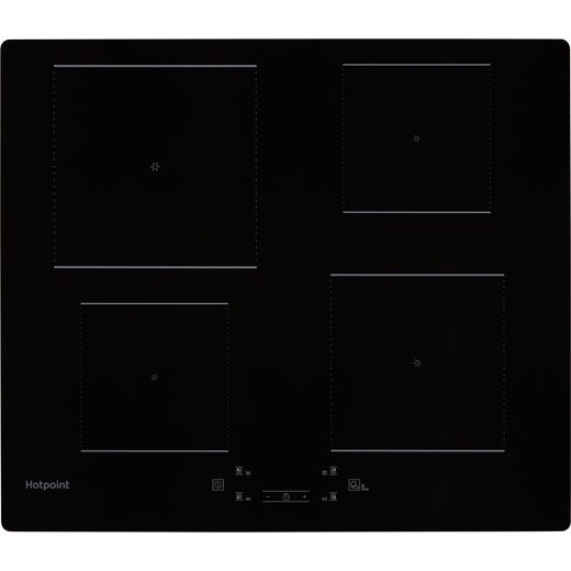 Hotpoint TQ1460SNE 59cm Induction Hob - Black