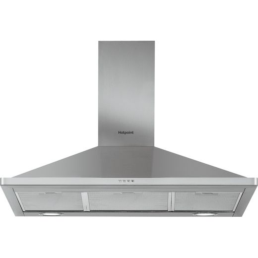 Hotpoint PHPN9.5FLMX 90 cm Chimney Cooker Hood - Stainless Steel - D Rated