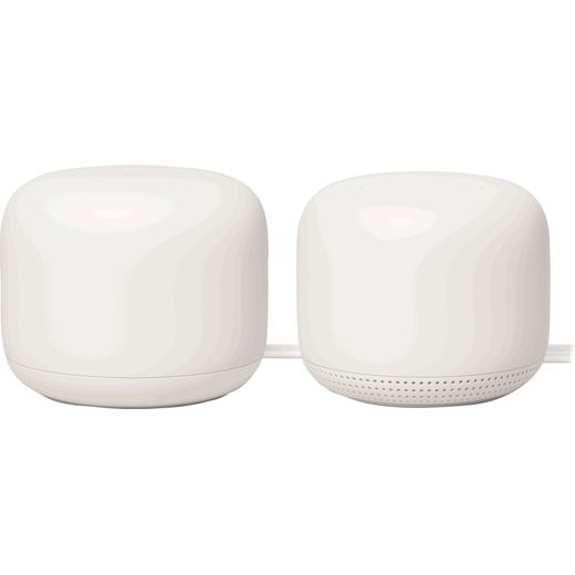 Google Nest WiFi Router and Point - AC2200Mbps