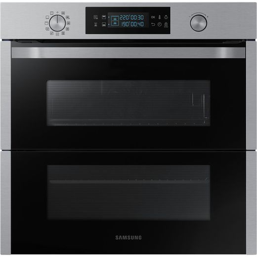 Samsung Dual Cook Flex NV75N5671RS Built In Electric Single Oven - Stainless Steel - A+ Rated