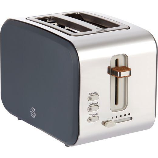 Swan Nordic ST14610GRYN 2 Slice Toaster - Grey