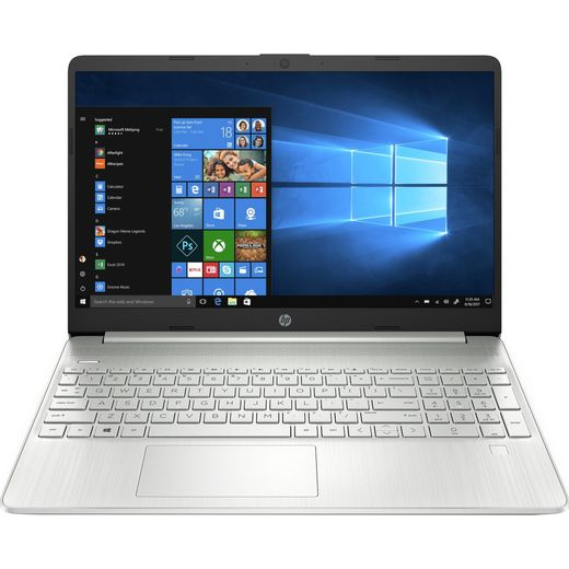 """HP 15s-fq2015na 15.6"""" Laptop - Silver"""