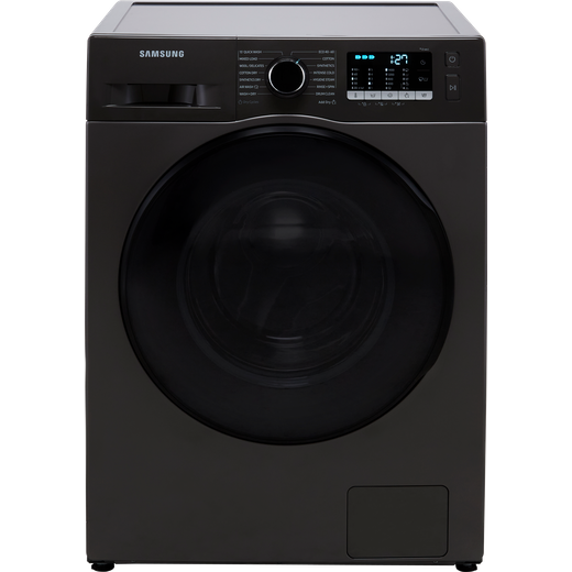 Samsung Series 5 ecobubble™ WD90TA046BX 9Kg / 6Kg Washer Dryer with 1400 rpm - Graphite - E Rated