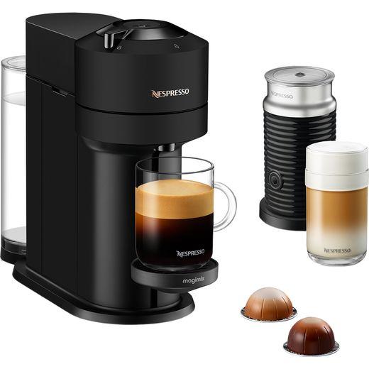 Nespresso by Magimix Vertuo Next & Milk 11720 Pod Coffee Machine - Matte Black