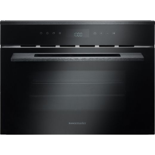 Rangemaster Eclipse ECL45MCBL/BL Built In Combination Microwave Oven - Black