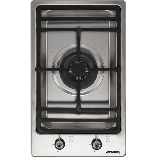 Smeg Classic PGF31G-1 Built In Gas Hob - Stainless Steel