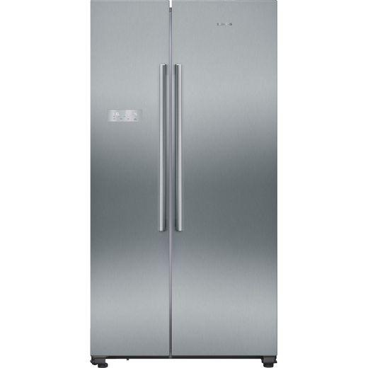 Siemens IQ-300 KA93NVIFP American Fridge Freezer - Stainless Steel Effect - F Rated