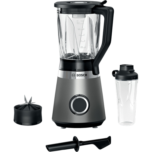Bosch Serie 4 VitaPower MMB6174SG 1.5 Litre Blender with 2 Accessories - Silver