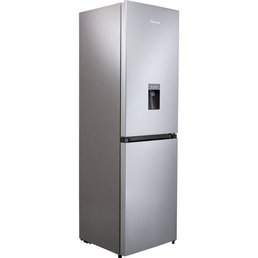 Fridgemaster MC55251MDS Fridge Freezer - Silver