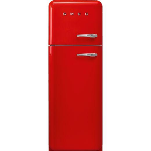 Smeg Left Hand Hinge FAB30LRD5UK Fridge Freezer - Red