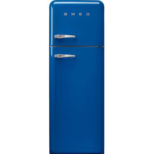 Smeg Right Hand Hinge FAB30RBE5 70/30 Fridge Freezer - Blue - D Rated