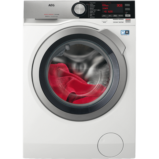 AEG OkoMix Technology L8WEC166R 10Kg / 6Kg Washer Dryer with 1550 rpm - White - E Rated