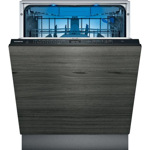 Siemens IQ-500 SN85EX69CG Wifi Connected Fully Integrated Standard Dishwasher - Black Control Panel - D Rated