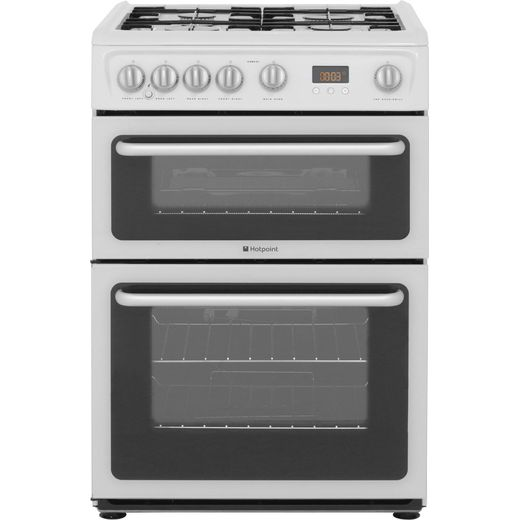 Hotpoint Newstyle HARG60P Gas Cooker - White