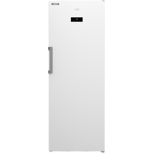 Beko FFEP3791W Frost Free Upright Freezer - White - E Rated