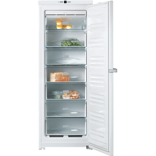 Miele FN26062ws Frost Free Upright Freezer - White - F Rated