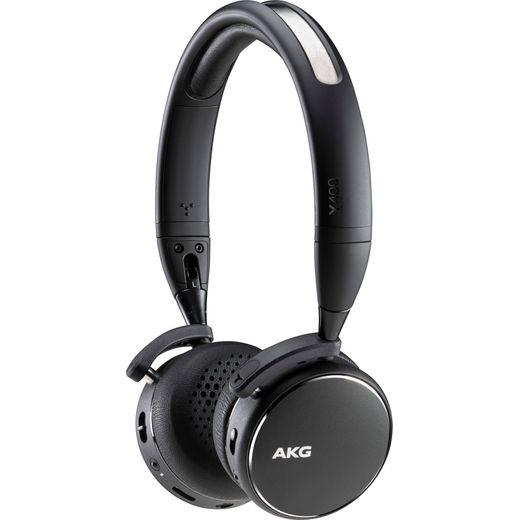 AKG Y400 Over-Ear Wireless Bluetooth Headphones - Black