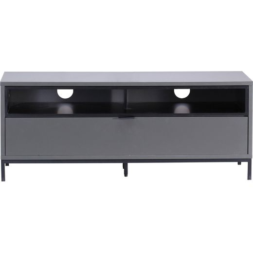 Alphason Chaplin ADCH1135-CH 2 Shelf TV Stand - Black