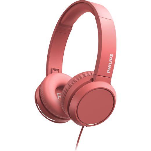 Philips On-Ear Headphones - Red