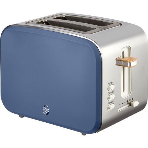 Swan Nordic ST14610BLUN 2 Slice Toaster - Blue