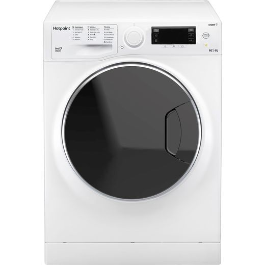 Hotpoint RD966JDUKN 9Kg / 6Kg Washer Dryer with 1600 rpm - White - E Rated