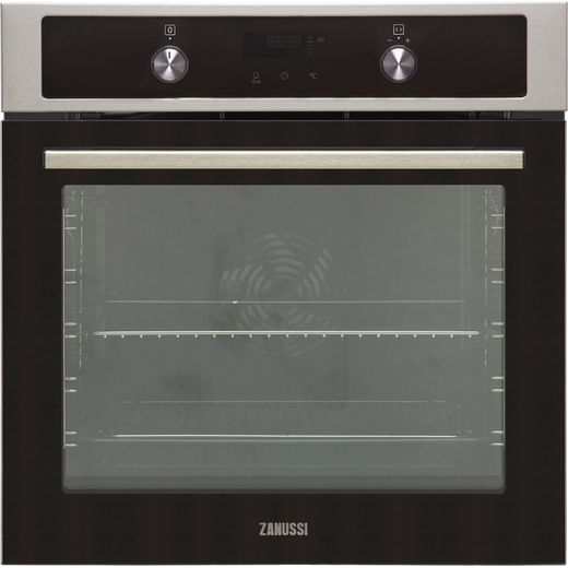 Zanussi ZOCND7X1 Built In Electric Single Oven - Stainless Steel - A+ Rated