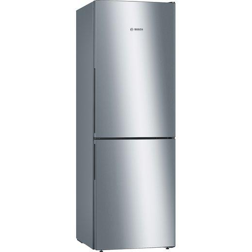 Bosch Serie 4 KGV33VLEAG Fridge Freezer - Stainless Steel Effect