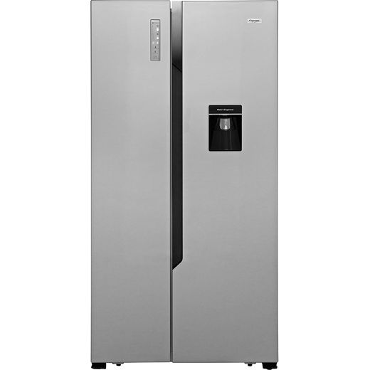 Fridgemaster MS91515DFF American Fridge Freezer - Silver - F Rated