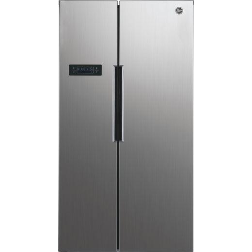 Hoover HHSBSO6174XK American Fridge Freezer - Stainless Steel Effect