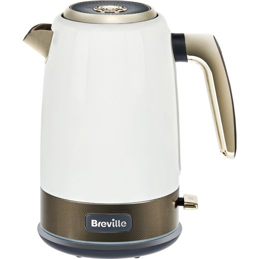 Breville New York Collection VKT142 Kettle - White / Gold