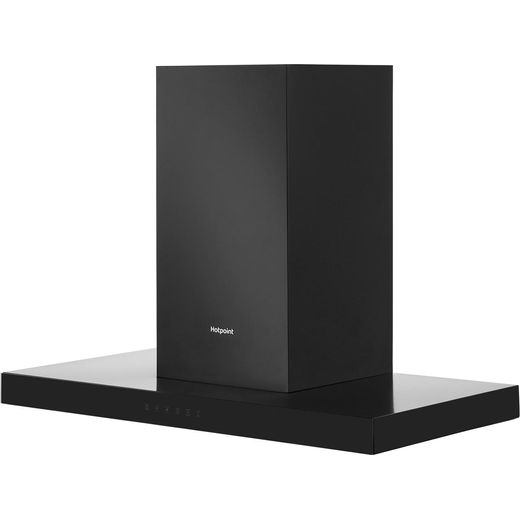 Hotpoint PHBS9.8CLTDK 90 cm Chimney Cooker Hood - Black - A Rated
