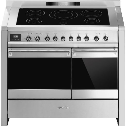 Smeg Opera A2PYID-81 Electric Range Cooker with Zone induction hob Hob - Stainless Steel - A/A Rated