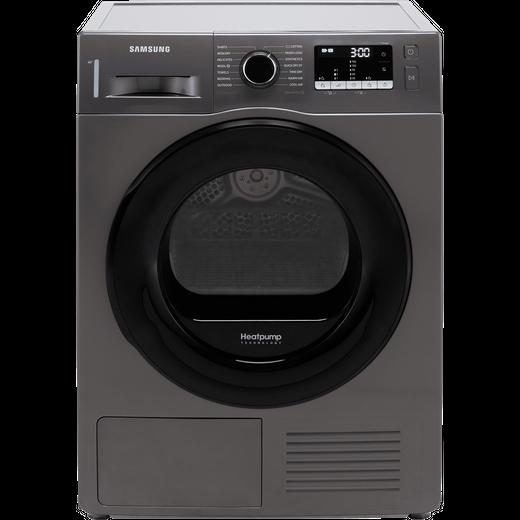Samsung Series 5 OptimalDry™ DV90TA040AX 9Kg Heat Pump Tumble Dryer - Graphite - A++ Rated