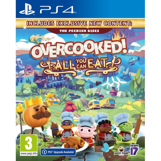 Overcooked! All You Can Eat for PlayStation 4